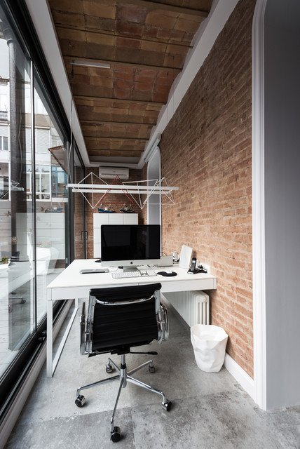 Exceptional-Industrial-Home-Office-Designs