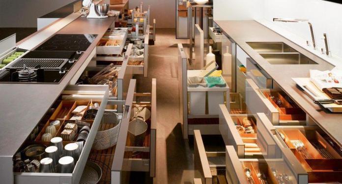 Kitchen-Storage-Furniture-with-Drawers