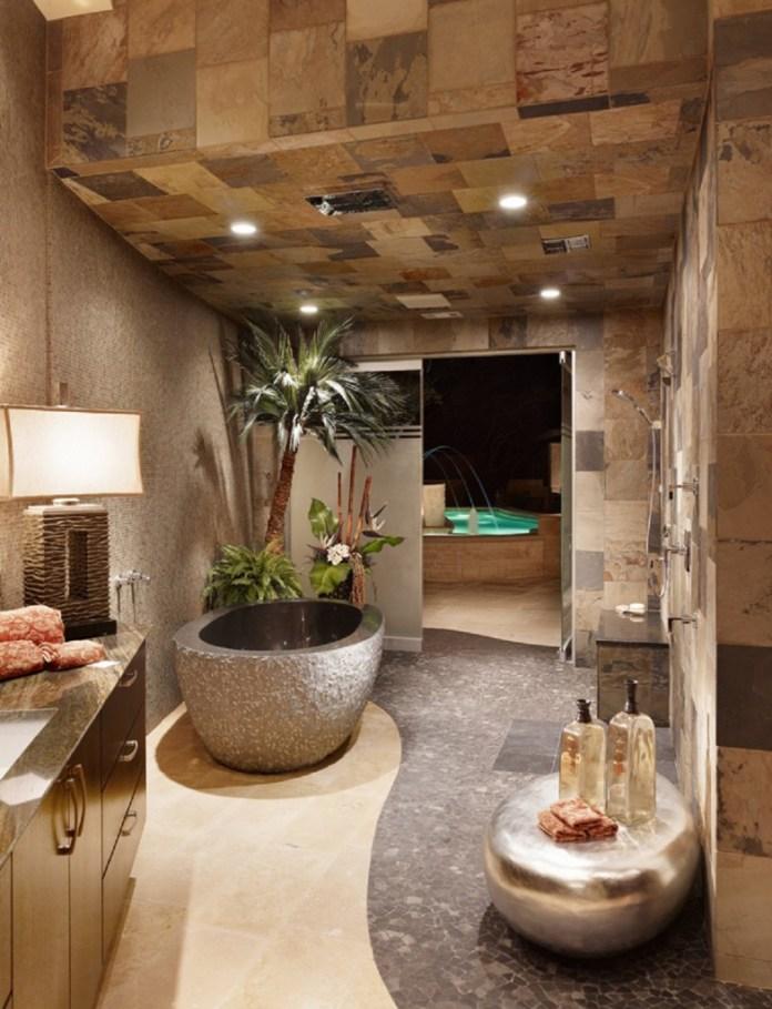 Luxury-bathroom-design-ideas-with-stone-master-bathtub