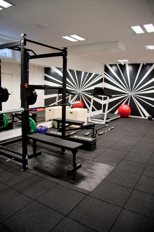 Modern-Home-Gym-Wallpaper-Murals-Ideas