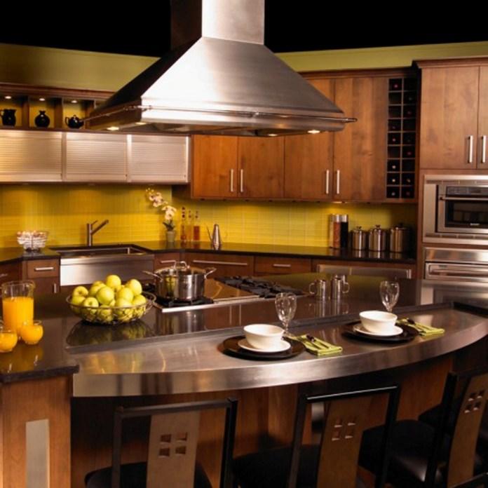 Modern-Kitchen-Design-With-Amaze-Oval-Kitchen-Bar-Design