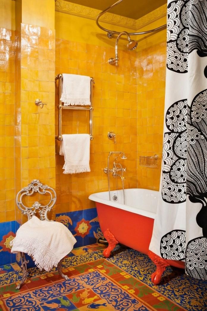 Outstanding-Bohemian-Bathroom