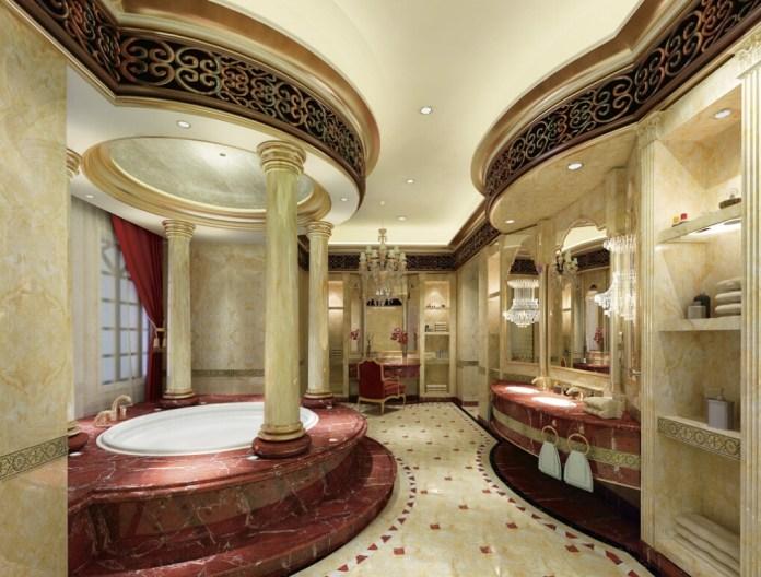 Style-luxury-bathroom-interior-decoration