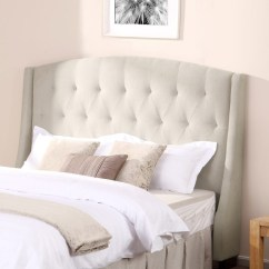 Gray Linen Tufted Sofa Ashley Furniture North Shore 31 Outstanding Headboard Ideas For Your Bedroom