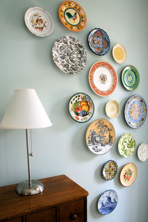 Plates To Hang On Wall Home Design Ideas