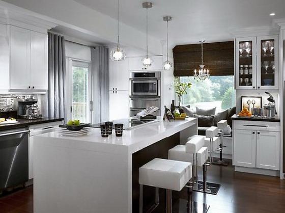 White-Elegant-Decoration-for-Modern-Kitchen-Islands-Ideas