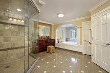 Large Master Bathroom Shower Tiles