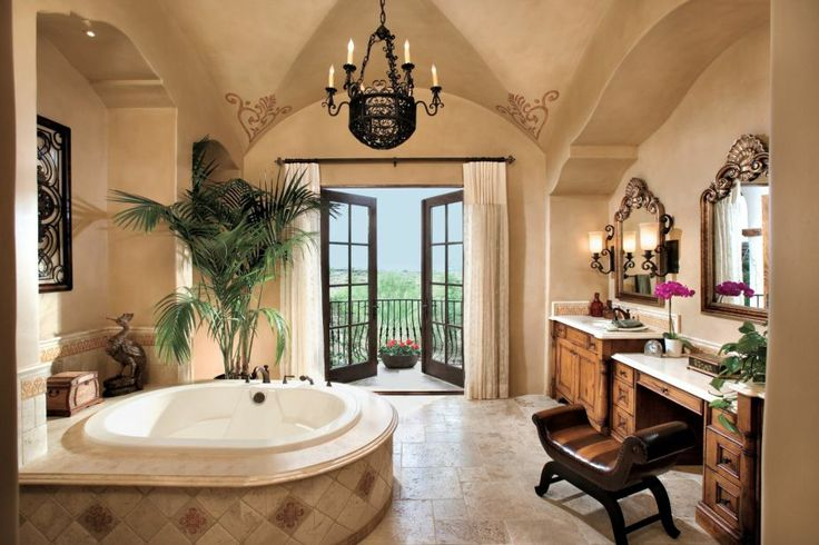 21 Luxury Mediterranean Bathroom Design Ideas