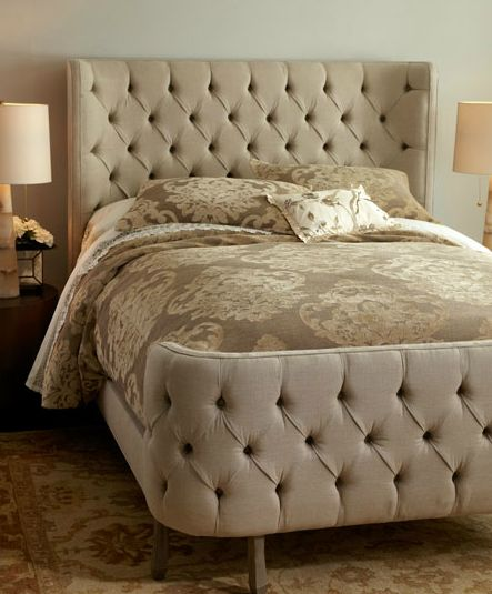 tufted-bed