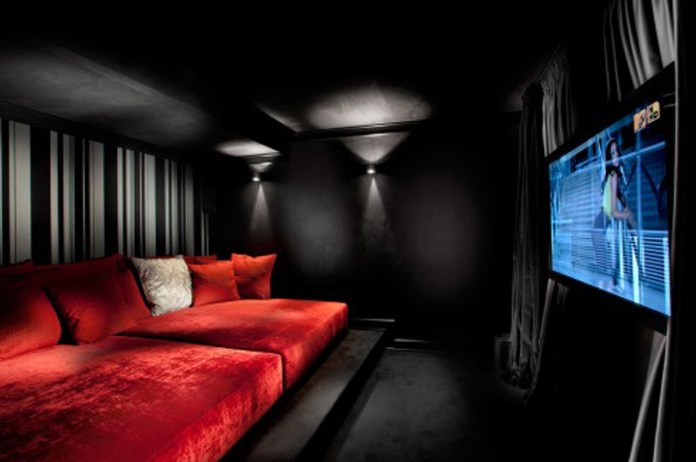 Black-and-Red-Media-Room-with-cozy-seating