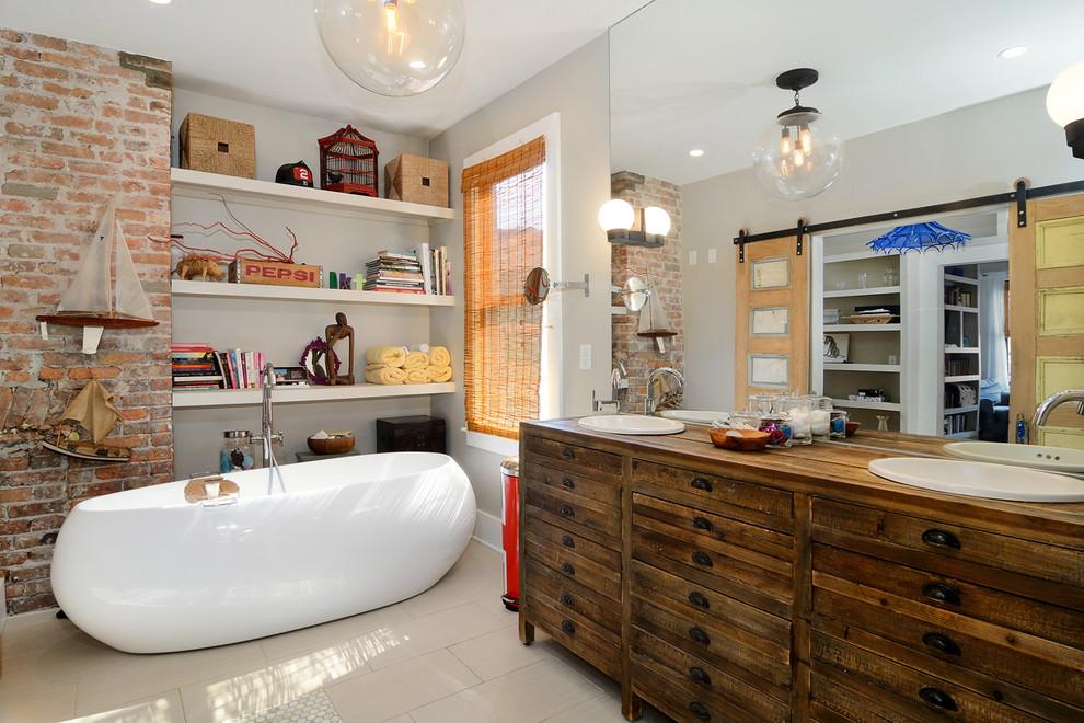 Charming Eclectic Bathroom