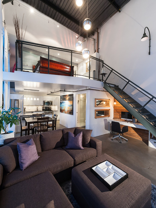 Contemporary Bachelor Pad Loft Home