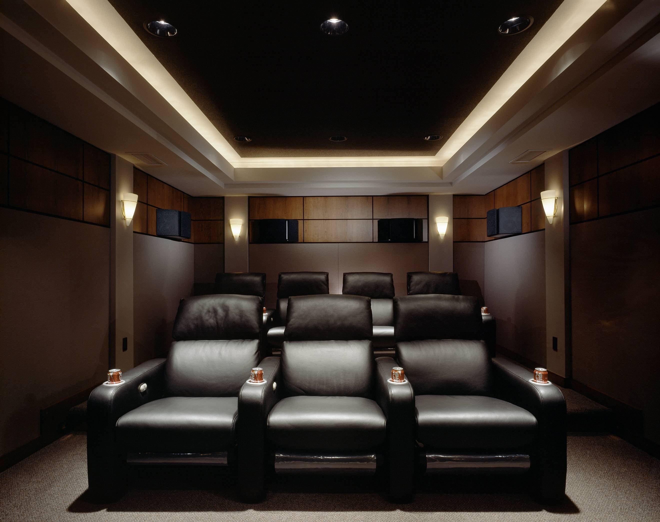 25 Inspirational Modern Home Movie Theater Design Ideas