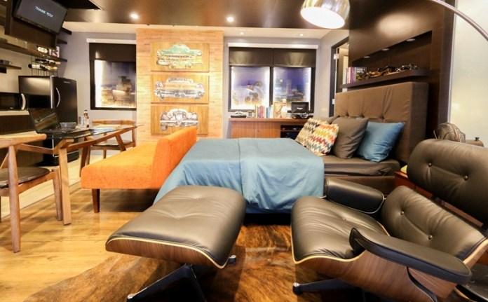 Midcentury Modern Studio Appartment