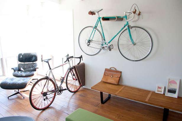 Minimalist Indoor Bike Racks