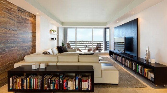 Modern Apartment Living with Contemporary Furniture Decor