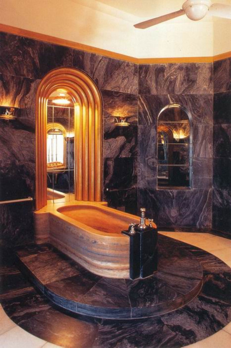 Modern Art Deco Bathroom