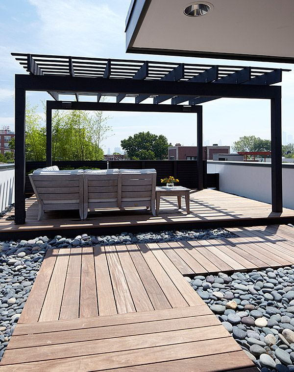 Modern House Design amazing rooftop patio