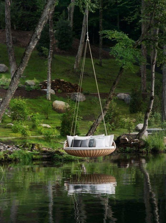 Unique Round Shore Swing