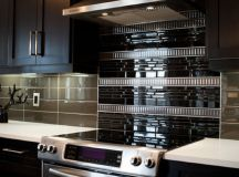 18 Black Subway Tiles in Modern Kitchen Design Ideas