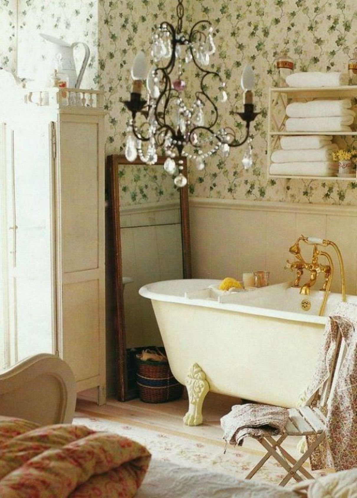 30 Shabby Chic Bathroom Design Ideas To Get Inspired