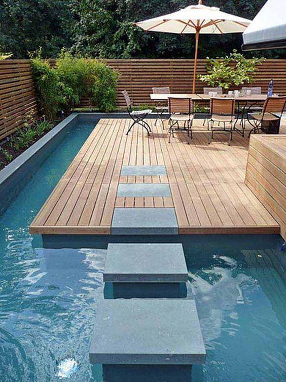 Fabulous Small Backyard Designs with Swimming Pool