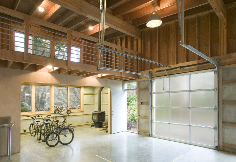 kitchen remodel okc staining cabinets 20 industrial garage designs to get inspired