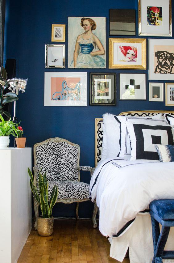 Loft apartment eclectic bedroom