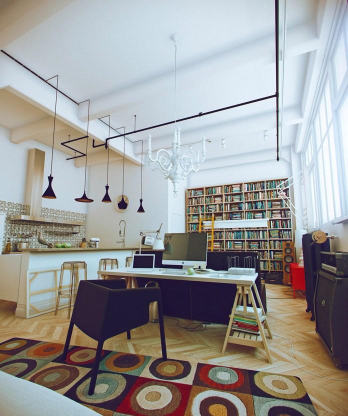Studio Apartment Design and Small Studio Apartments