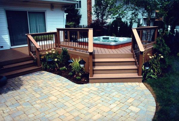 Ideas Incredible Outdoor Decks And Patios Plans Backyard Decks