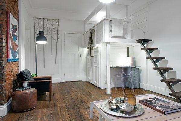 rustic studio apartment Studio apartment