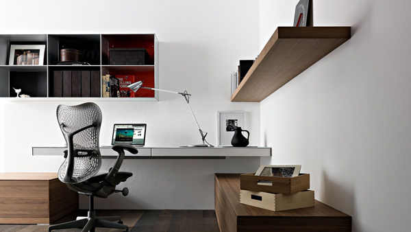 simple-home-office-design-ideas-wall-mounted-laptop-desk