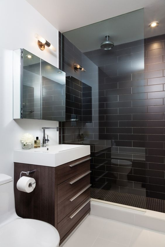 40 Of The Best Modern Small Bathroom Design Ideas