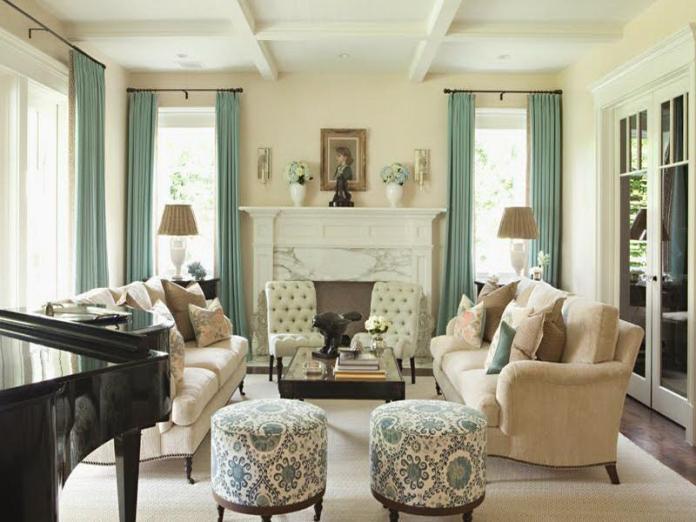Creative lovely living room