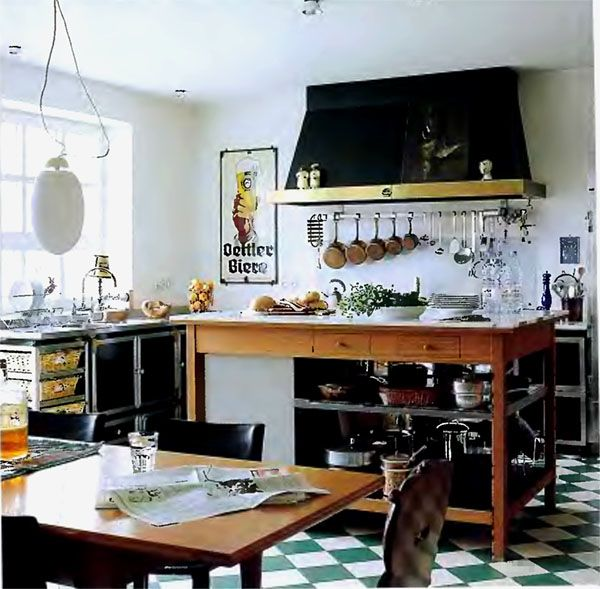 Eclectic Kitchens and Islands