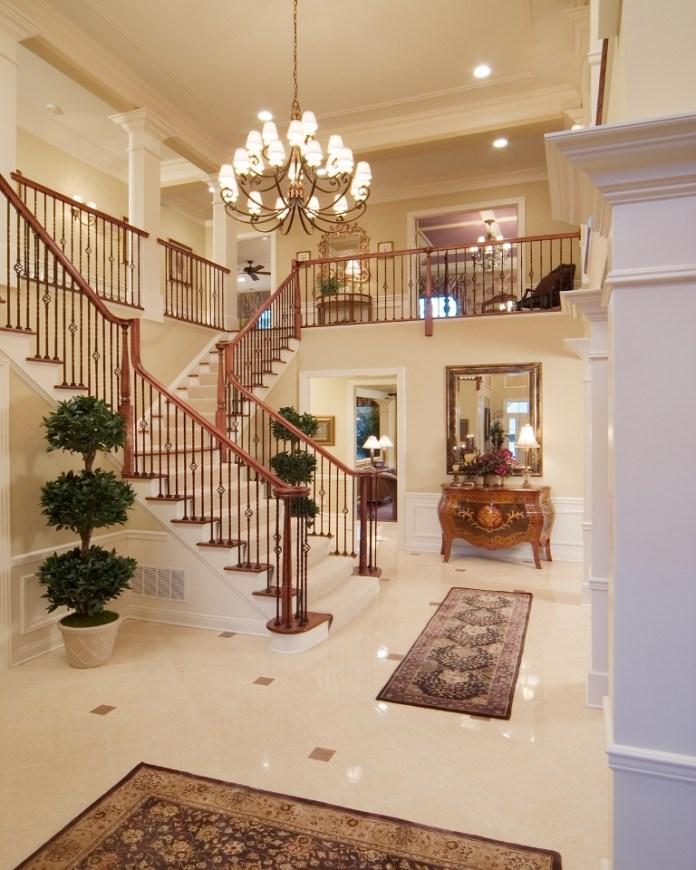 Luxury Foyer Decorating And Design Ideas (17)