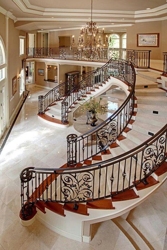 Luxury Foyer Decorating And Design Ideas (20)