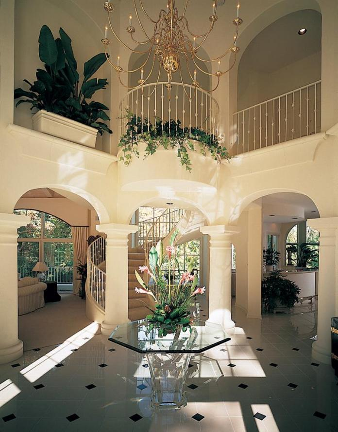 Luxury Foyer Decorating And Design Ideas (7)