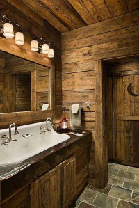 25 Rustic Bathroom Decor Ideas For Urban World