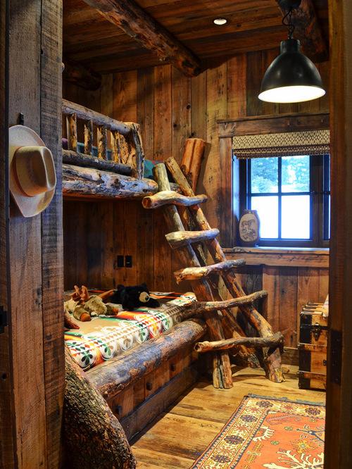 Rustic Kids Bedrooms