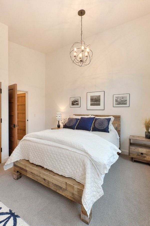 Small Bedroom Ideas and Transitional Bedroom Sets