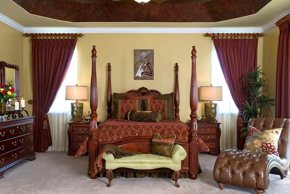 Specially Traditional Bedroom Design