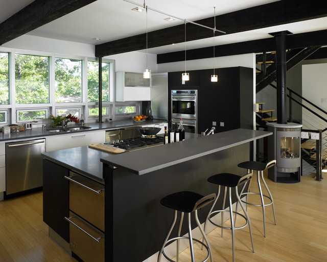 contemporary-kitchen functional