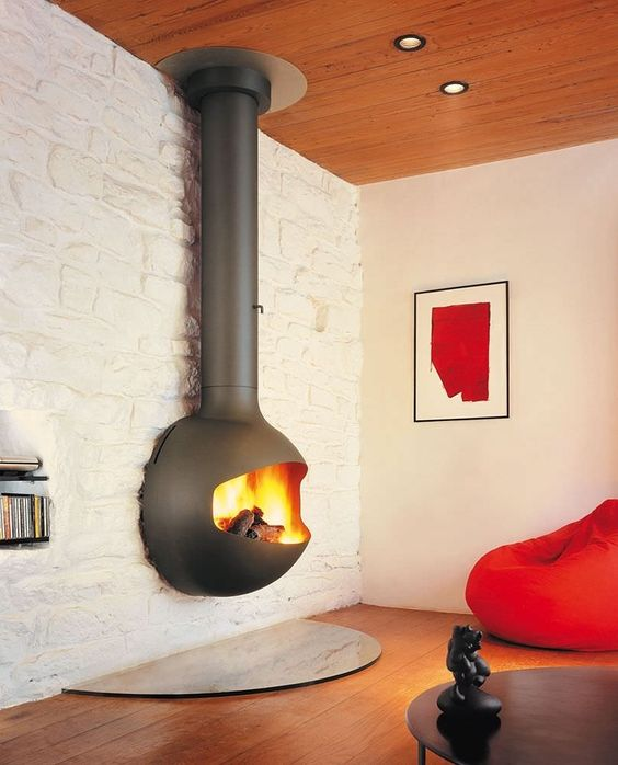 malm stainless steel fireplace