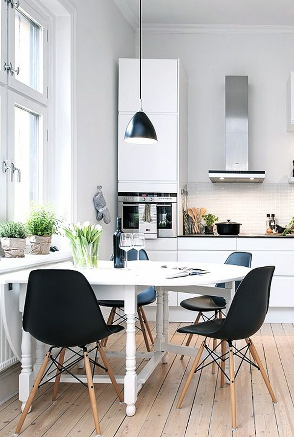 scandinavian-kitchens-with-small-dining-room