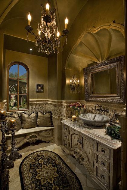 tuscan-powder-room