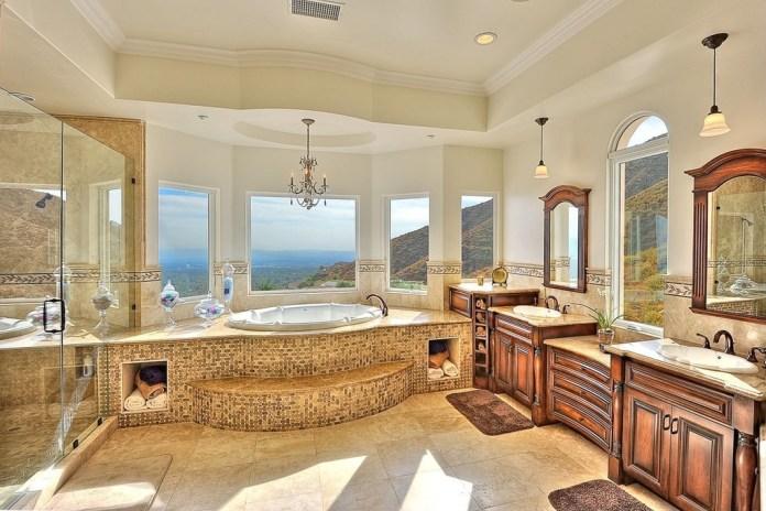 Amazing Decoration in Mediterranean Bathrooms