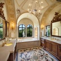 Mediterranean Master Bathroom Designs