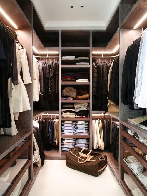 Contemporary Closet Design Ideas,