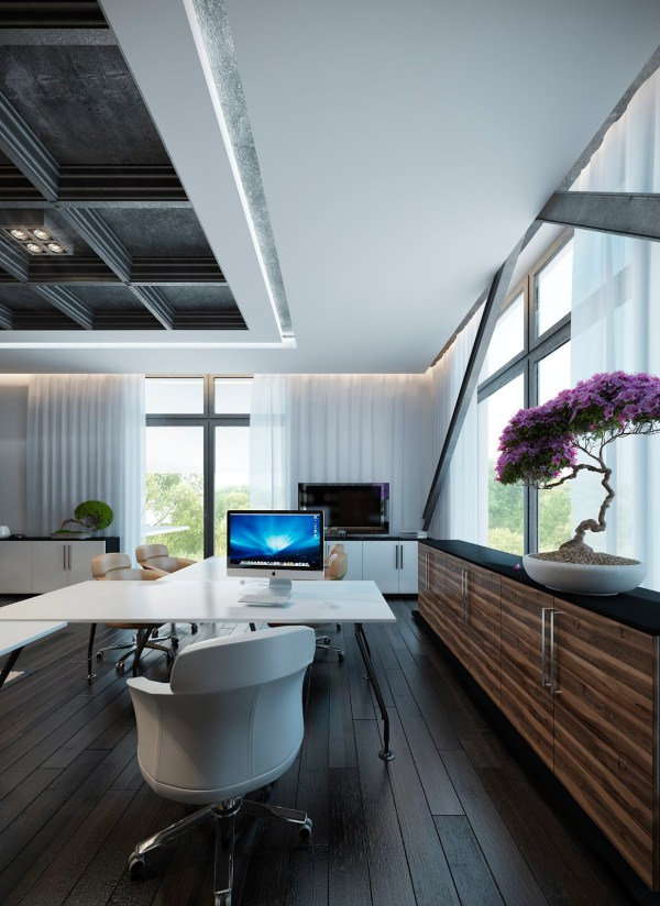 Contemporary Home Office Guaranteed Love